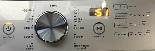 Maytag 洗衣機 用電 實測